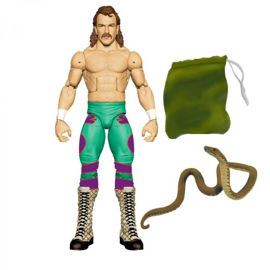 wwe legends series 8 - jake the snake chase