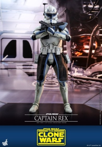 Hot Toys Star Wars clone wars figure - Crossed arms