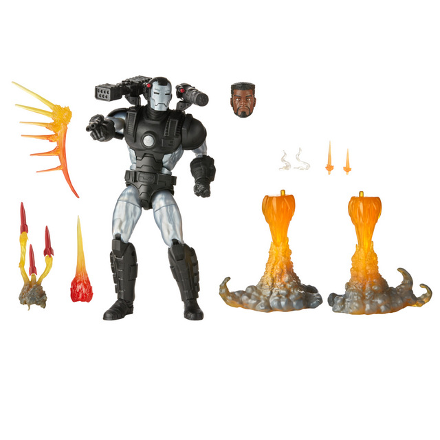 MARVEL LEGENDS SERIES 6-INCH DELUXE MARVEL'S WAR MACHINE Figure - oop (1)