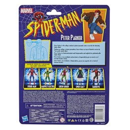 MARVEL LEGENDS SERIES 6-INCH PETER PARKER RETRO COLLECTION Figure - in pck (2)