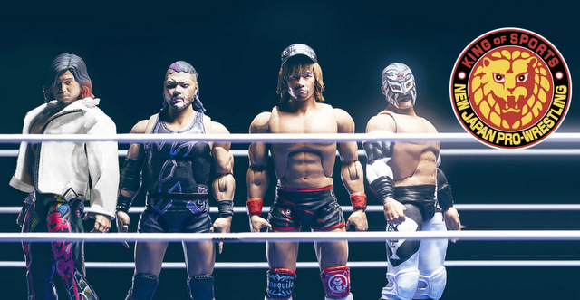 Super7 new japan pro wrestling wave 2 Pre-Order