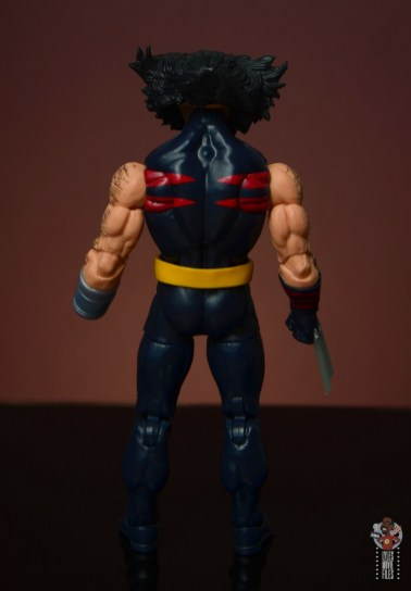 marvel legends age of apocalypse weapon x figure review - rear