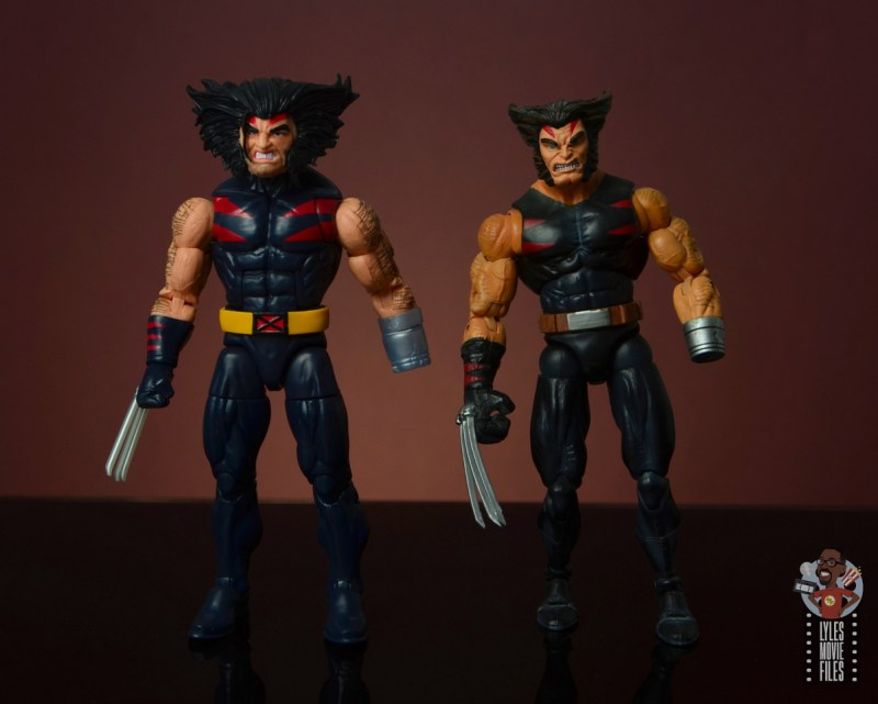 marvel legends age of apocalypse weapon x figure review - with toy biz weapon x