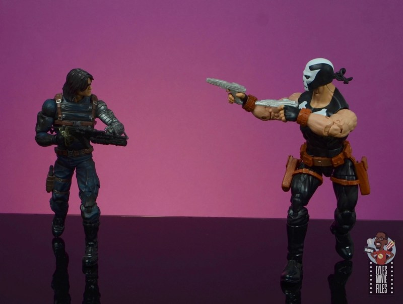 marvel legends crossbones figure review - facing off with winter soldier