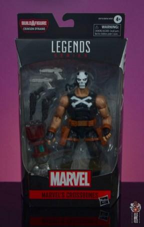 marvel legends crossbones figure review - package front