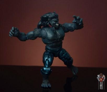 marvel legends dark beast figure review - arm width