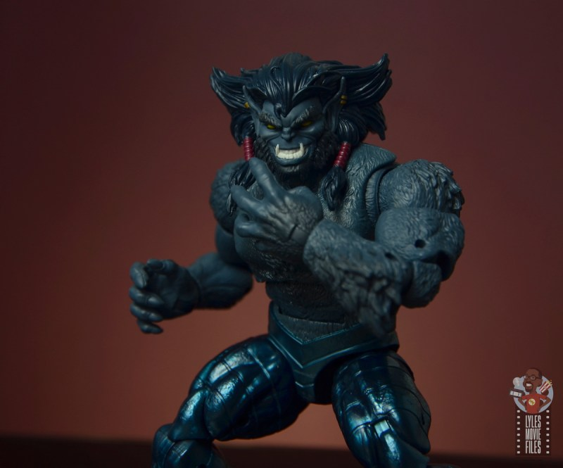 marvel legends dark beast figure review - hatching plan