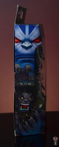 marvel legends dark beast figure review - package side