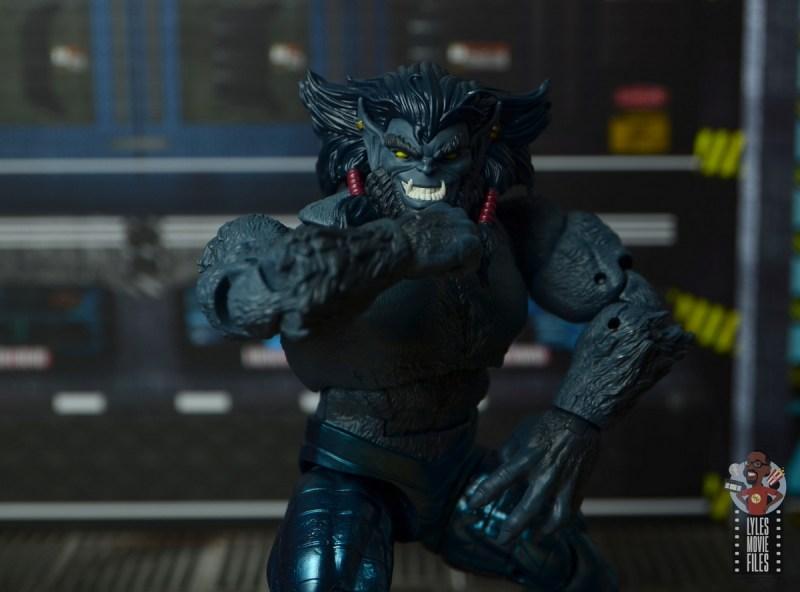 marvel legends dark beast figure review - scheming
