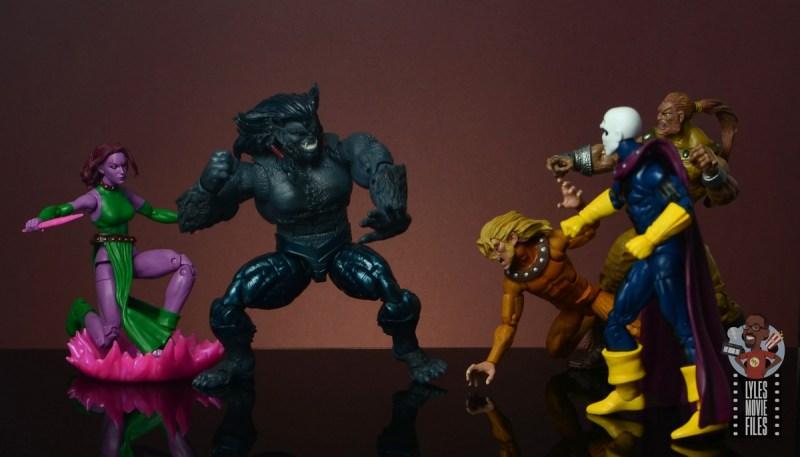 marvel legends dark beast figure review - vs astonishing x-men