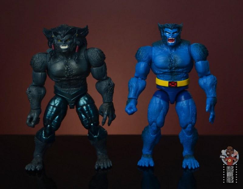 marvel legends dark beast figure review - with beast
