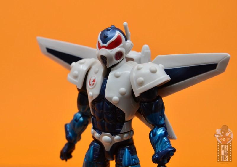 marvel legends mach-1 figure review - close up details