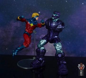 marvel legends mar-vell figure review - breaking kree sentry