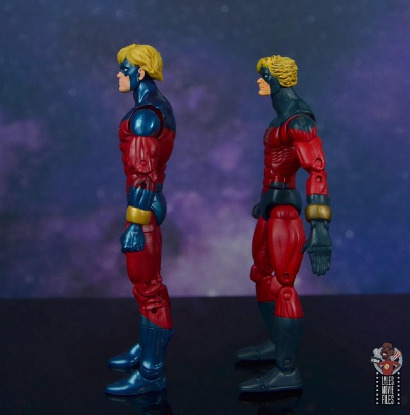 marvel legends mar-vell figure review - facing toy biz captain marvel