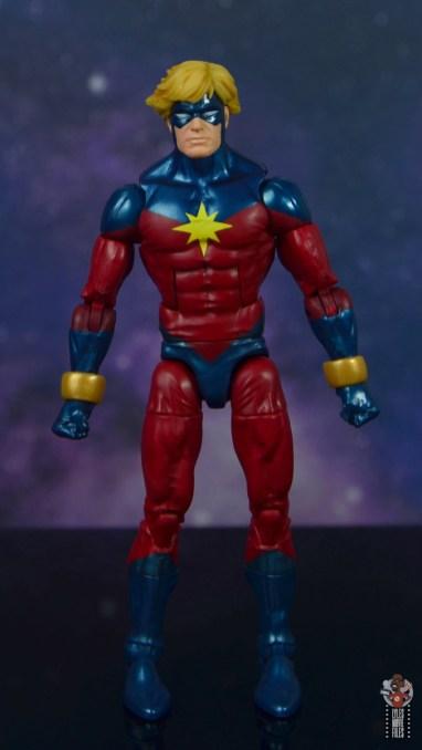 marvel legends mar-vell figure review - front