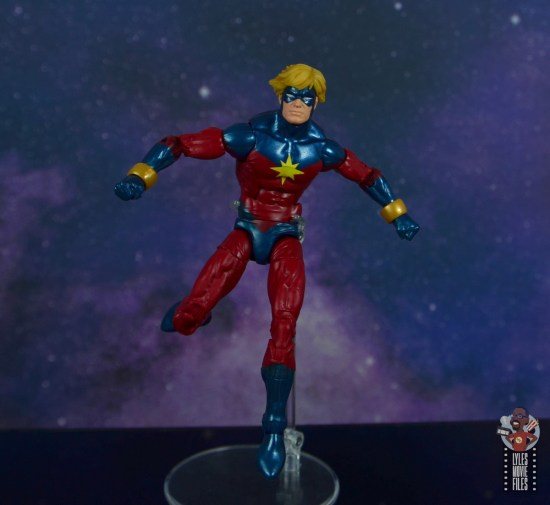 marvel legends mar-vell figure review - landing