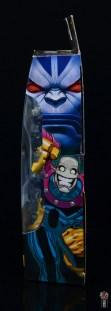 marvel legends morph figure review - package side