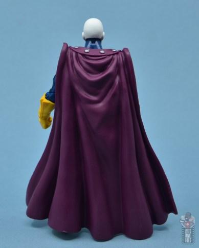 marvel legends morph figure review - rear