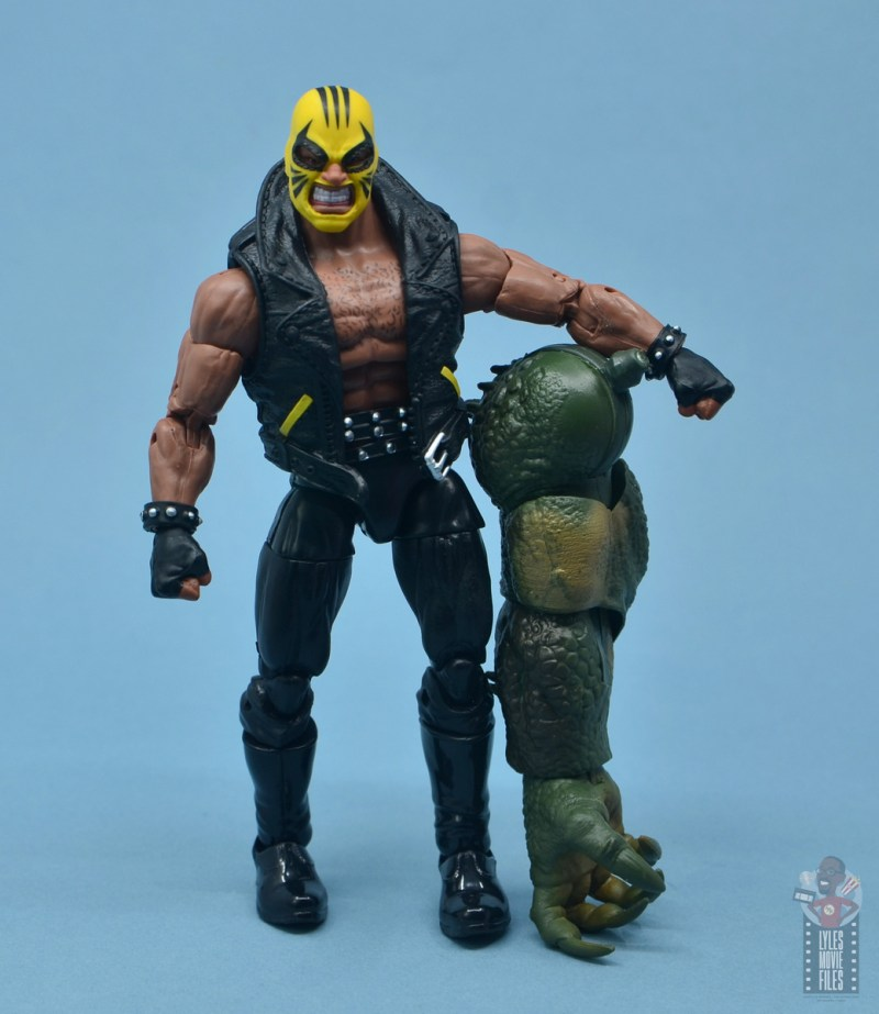 marvel legends rage figure review - with baf abomination arm