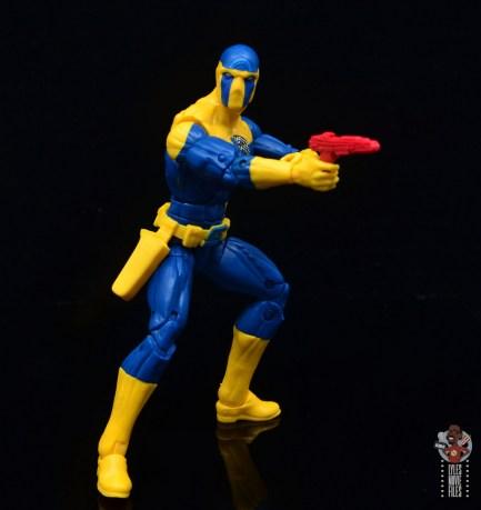 marvel legends spymaster figure review - blaster out