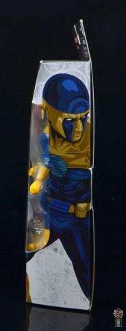 marvel legends spymaster figure review - package side