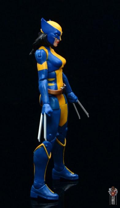 marvel legends wolverine figure review - right side