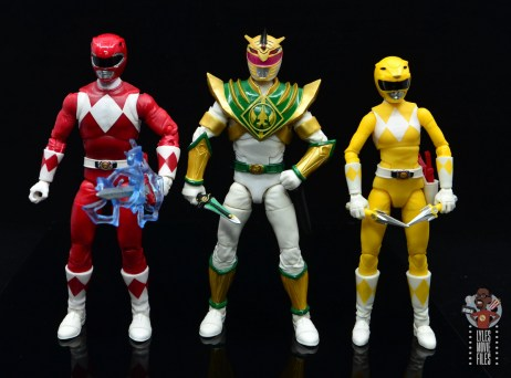 power rangers lightning collection lord drakkon figure review - scale with red ranger and yellow ranger
