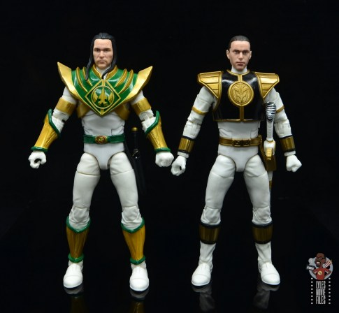 power rangers lightning collection lord drakkon figure review -scale with white ranger