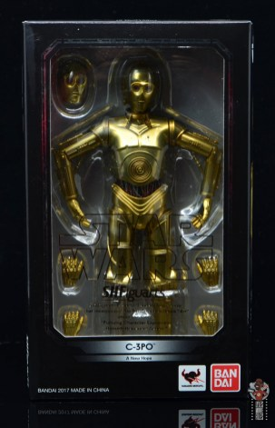 sh figuarts star wars c-3p0 figure review -package front
