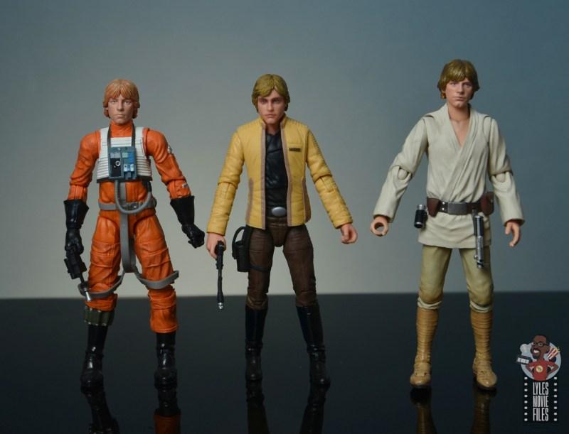 star wars the black series yavin celebration luke skywalker figure review - with hasbro and figuarts luke