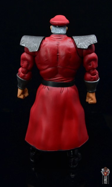 storm collectibles street fighter m. bison figure review - rear