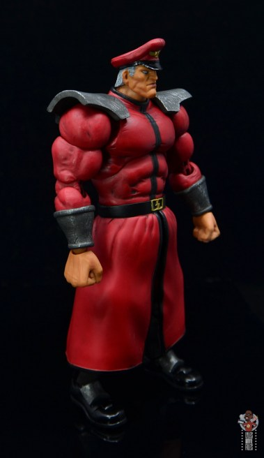 storm collectibles street fighter m. bison figure review - right side