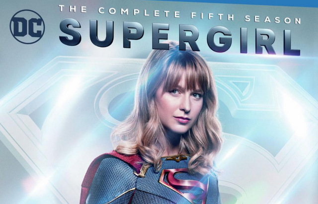 supergirl fifth season blu ray cover