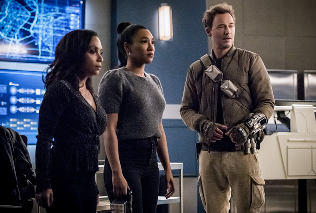 the flash liberation review - cecile, iris and nash