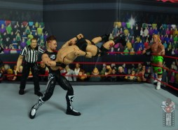 wwe elite hall of champions road dogg figure review - front suplex to stone cold