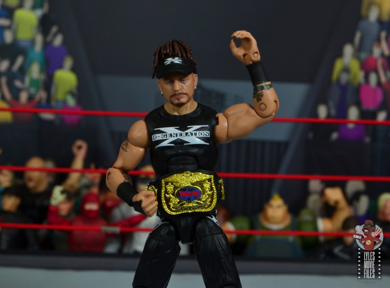 wwe elite hall of champions road dogg figure review - with tag team title