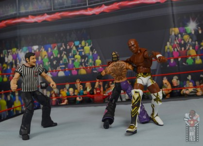 wwe elite shelton benjamin figure review - clothesline to rey mysterio