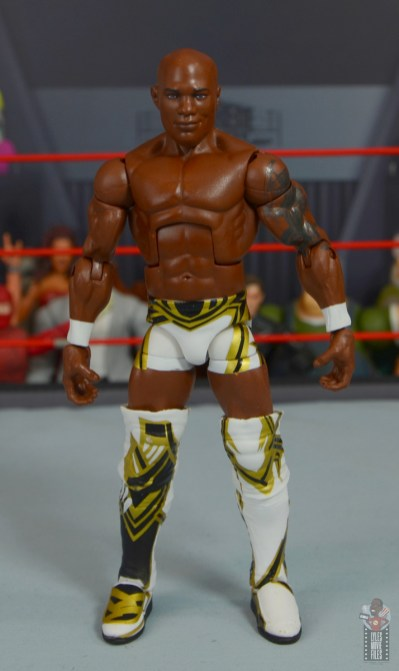 wwe elite shelton benjamin figure review - front