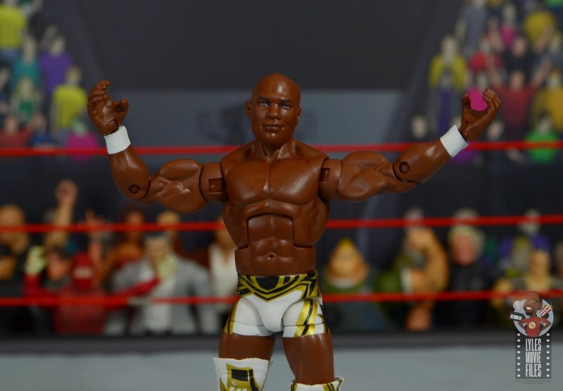 wwe elite shelton benjamin figure review - main pic