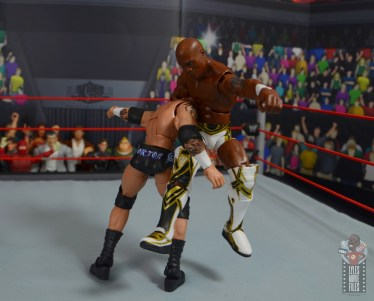 wwe elite shelton benjamin figure review - paydirt to randy orton