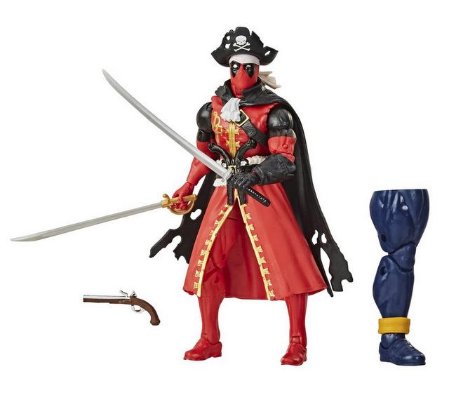 Deadpool Marvel Legends Pirate Deadpool 6-inch Action Figure -