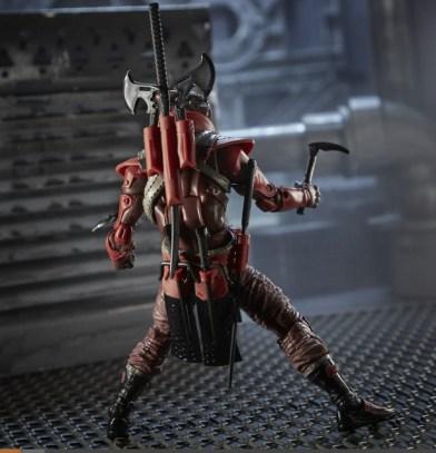 G.I. Joe Classified Series 6-Inch Red Ninja Action Figure - rear