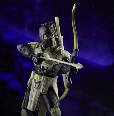 G.I. Joe Classified Series Arctic Mission Storm Shadow figure - aiming arrow