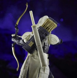 G.I. Joe Classified Series Arctic Mission Storm Shadow figure - rear