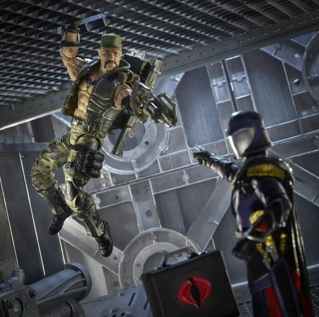 G.I. Joe Classified Series Gung Ho Action Figure - going after cobra commander