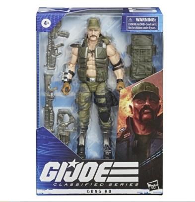 G.I. Joe Classified Series Gung Ho Action Figure - package