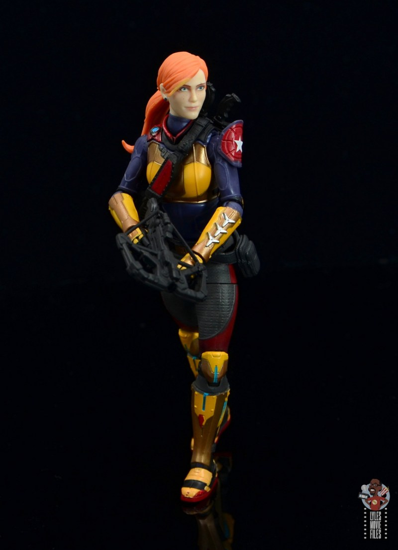 gi joe classified scarlett figure review - advancing