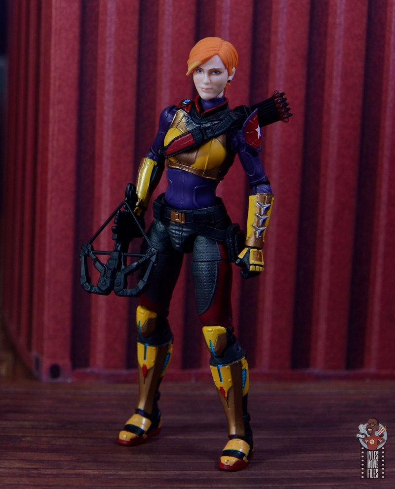 gi joe classified scarlett figure review - at the pier