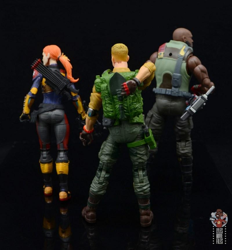 gi joe classified series duke figure review - backpack detail