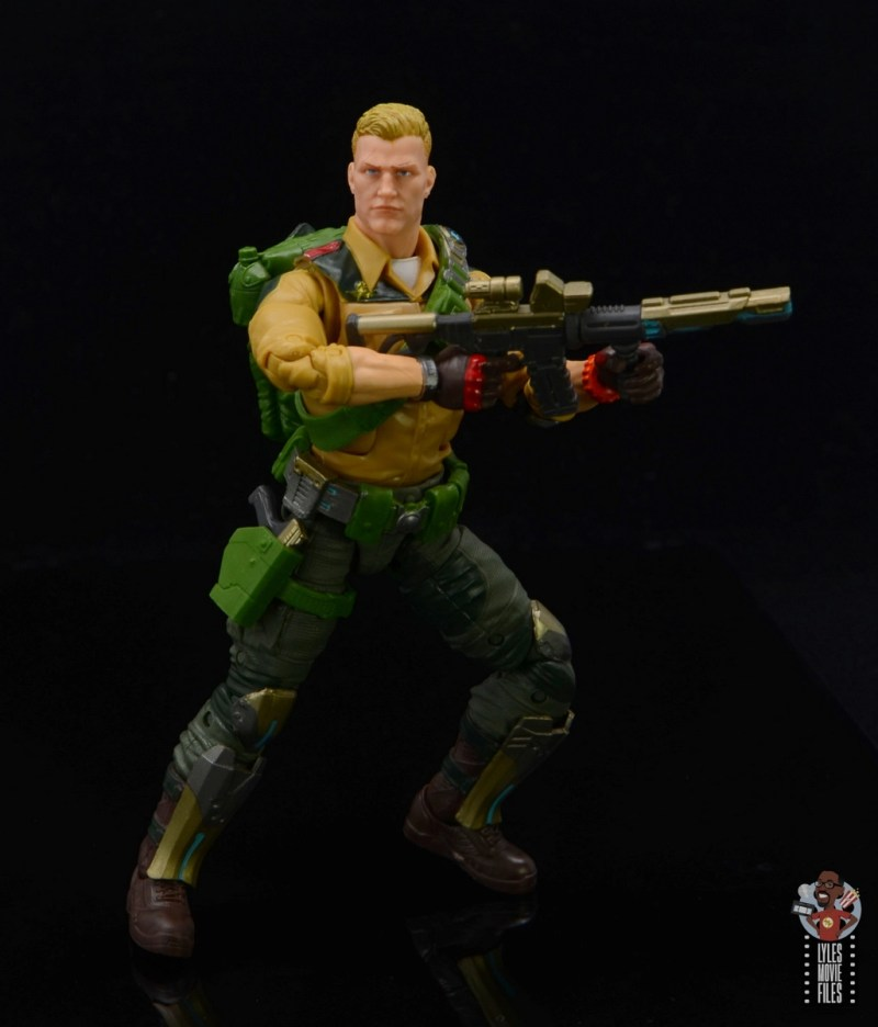 gi joe classified series duke figure review - ready for action with rifle